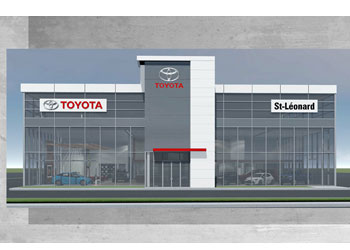 Project :  Toyota Gravel - St. Leonard